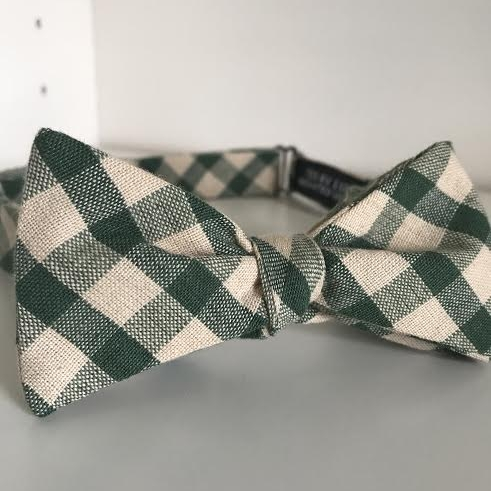 Copy of Green & tan check