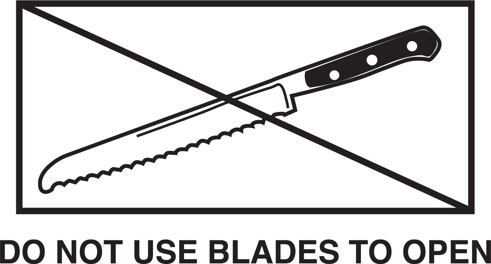 Custom bread knife icon