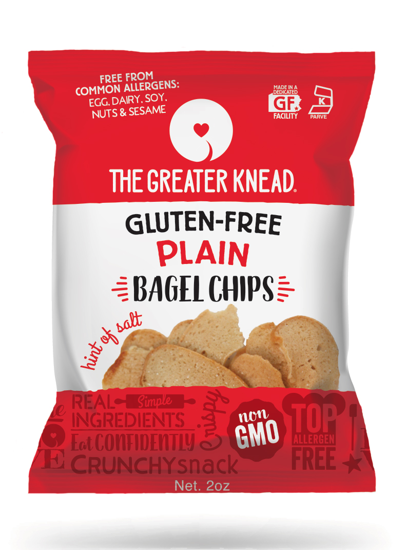 Bagel Chip Fin-Seal Package Design and Mock-up