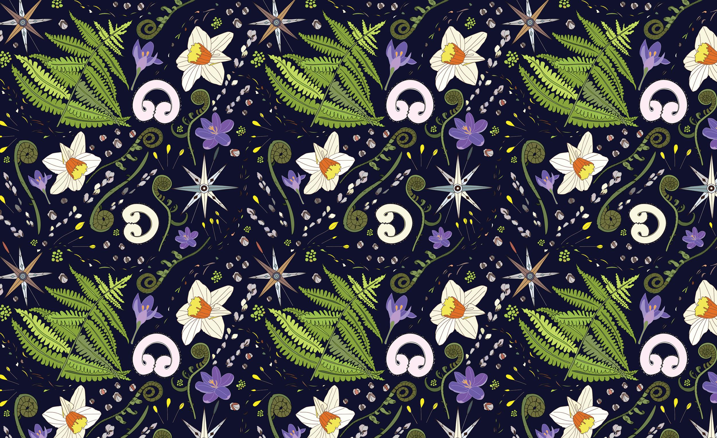 Repeat Pattern in Dark