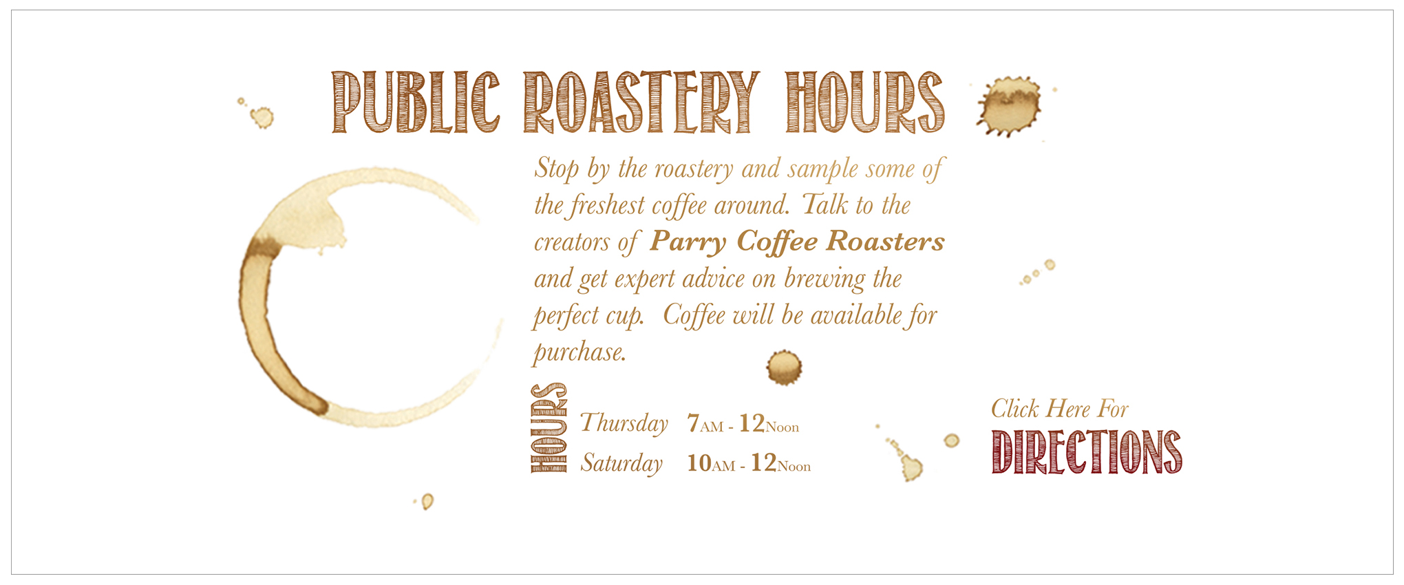 Public Roastery Hours Banner