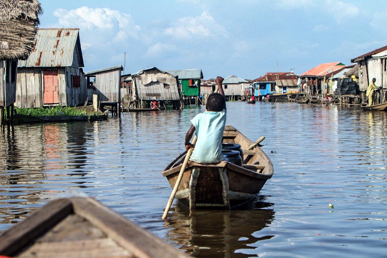 Lake Ganvie, Benin