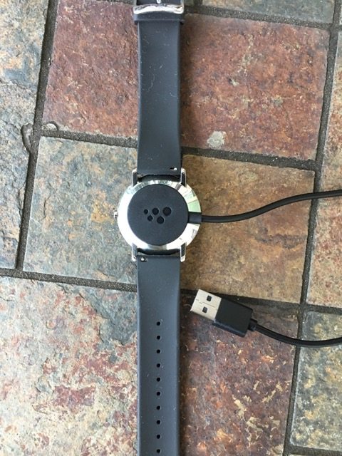 Watch with USB charger