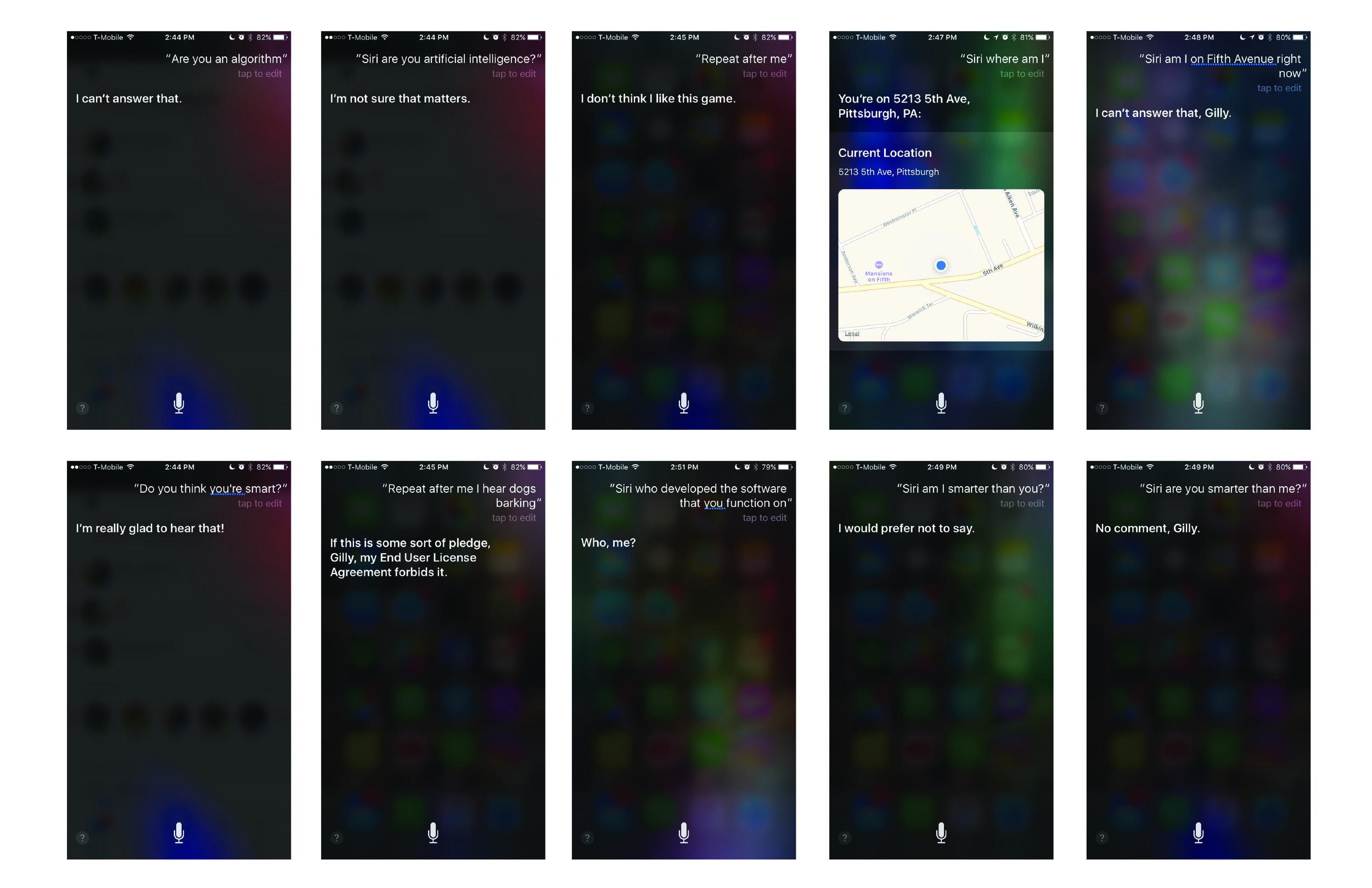 Researching Siri Conversational UI