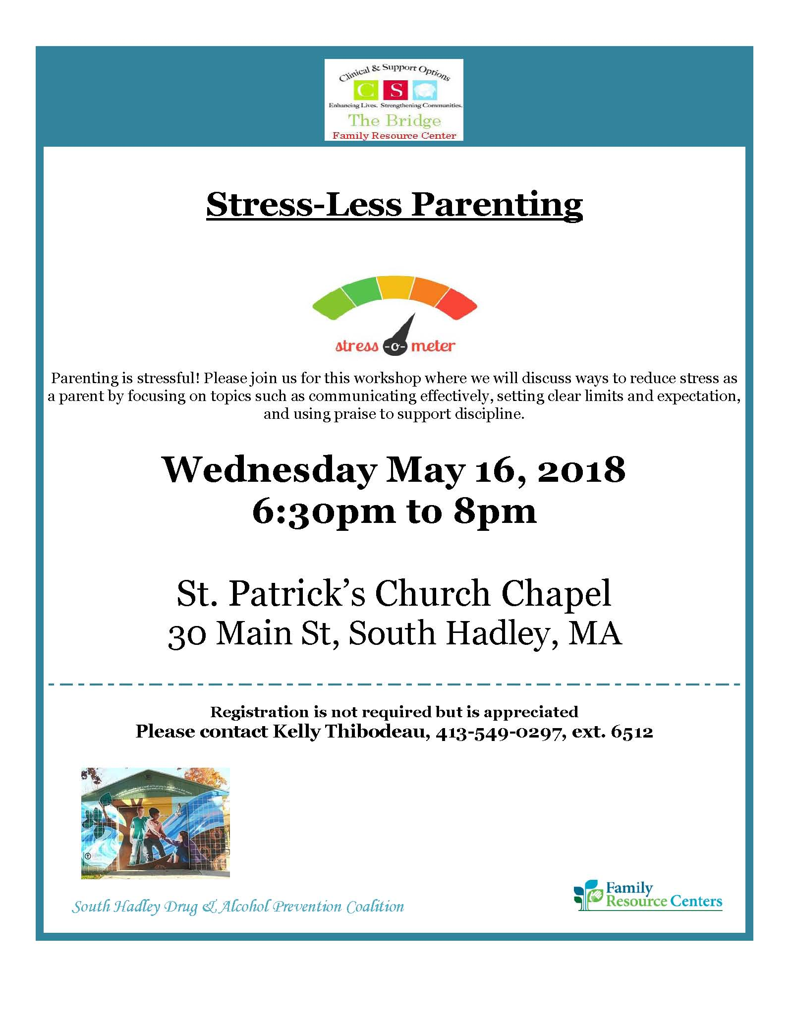 Flyer for Lunch and Learn Stress-Less Parenting (1)May 2018.jpg