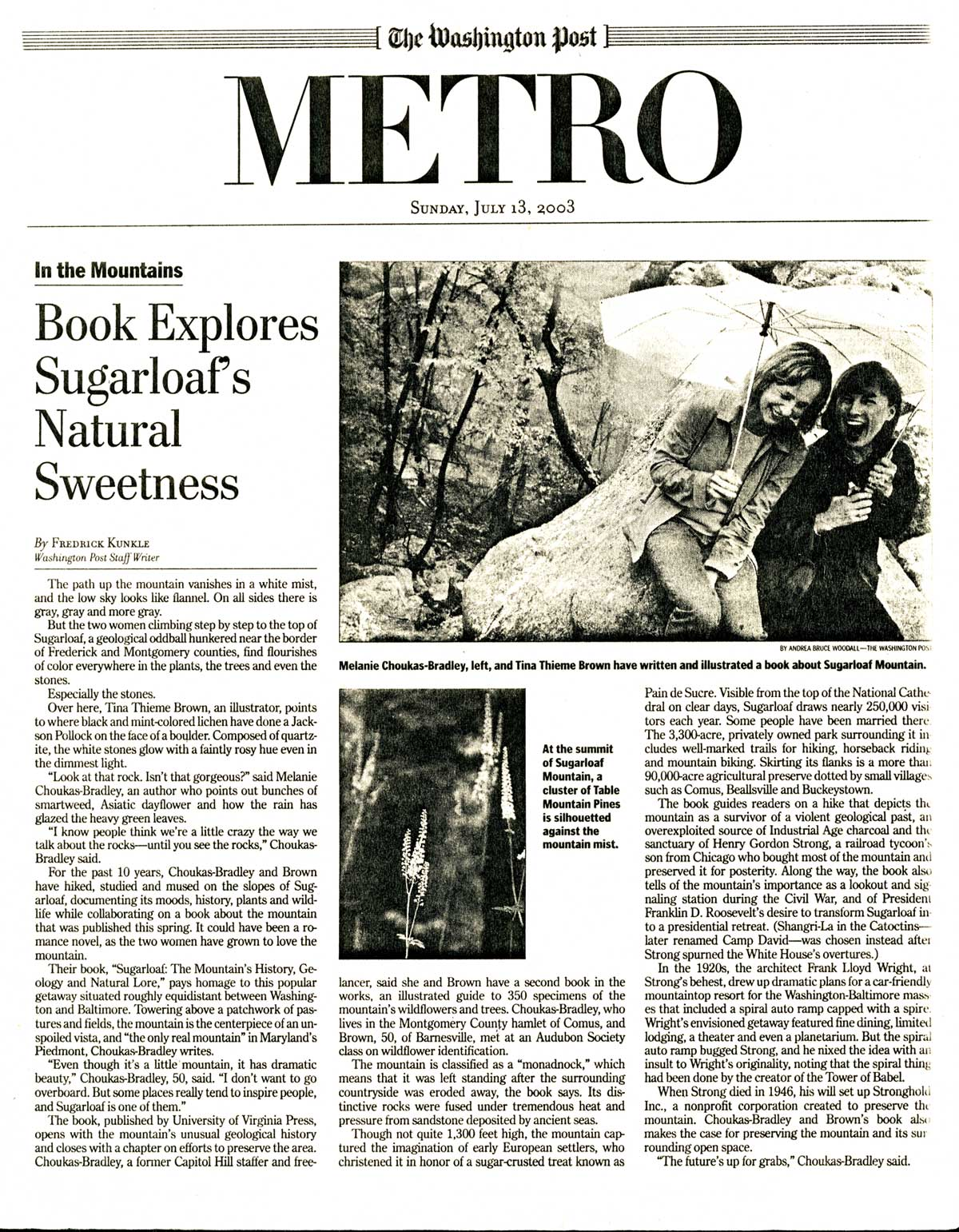Washington Post Sugarloaf Book Review