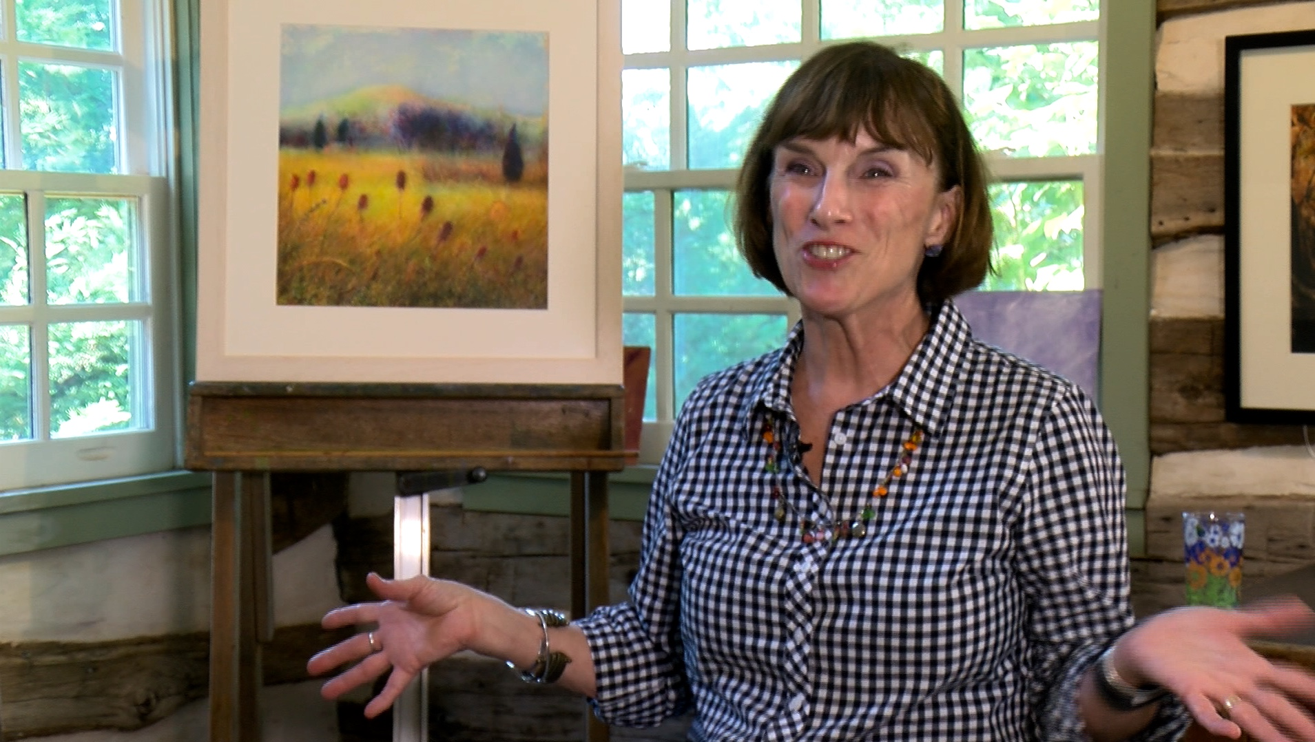 Tina Thieme Brown Art Studio Interview