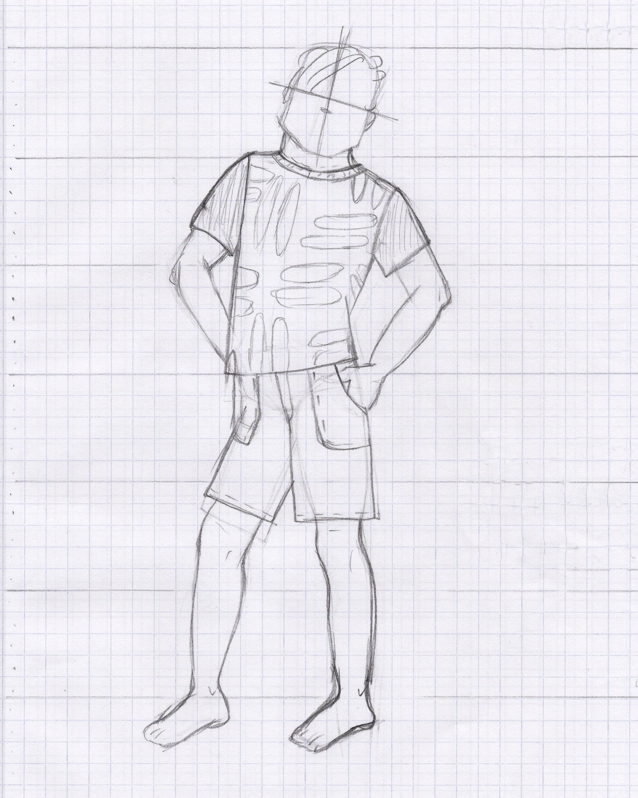 Boy's Shirt and Shorts