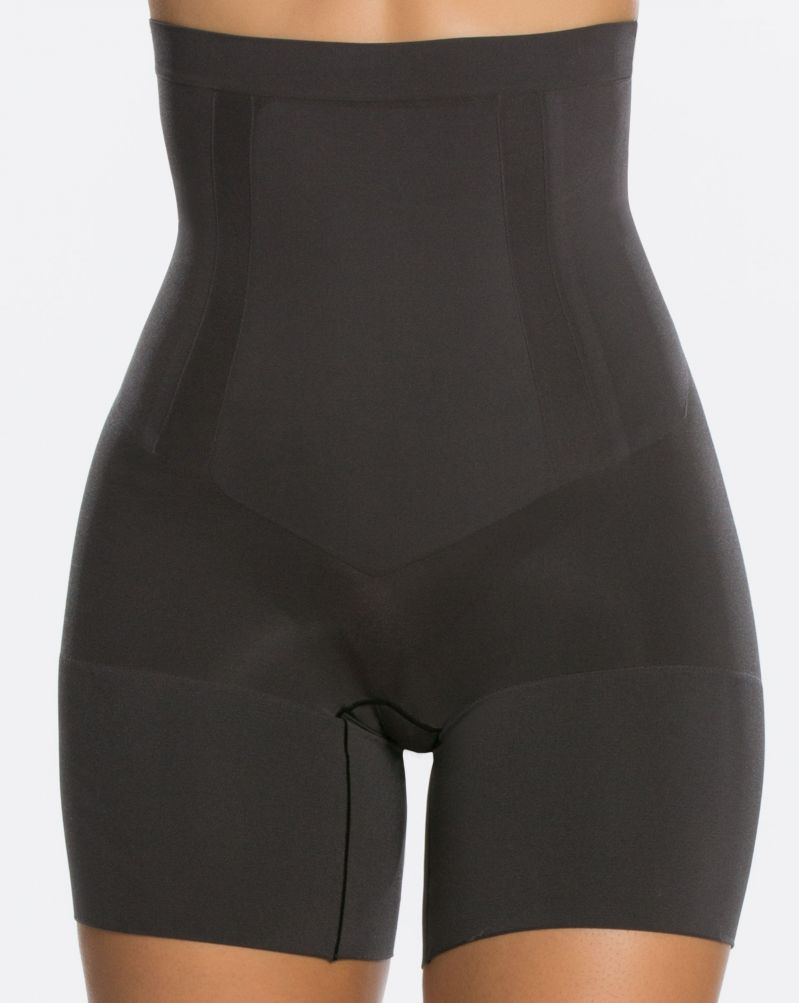 Seamless high-waist mid-thigh shaper. Assisted on development of XS size.