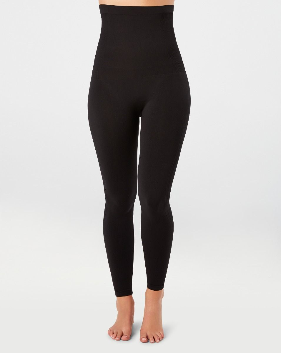 High-waist seamless legging. Assisted with development to create tummy compression with smooth and comfortable fit.