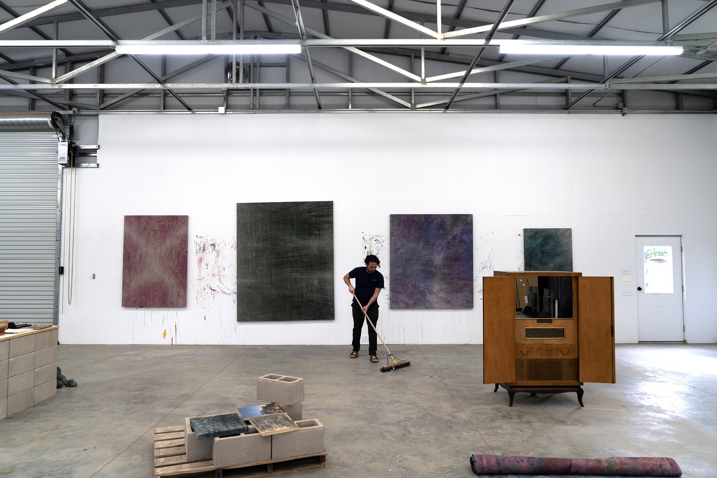 Generosity As Medium An Interview With Cole Sternberg In His Studio Cole Sternberg