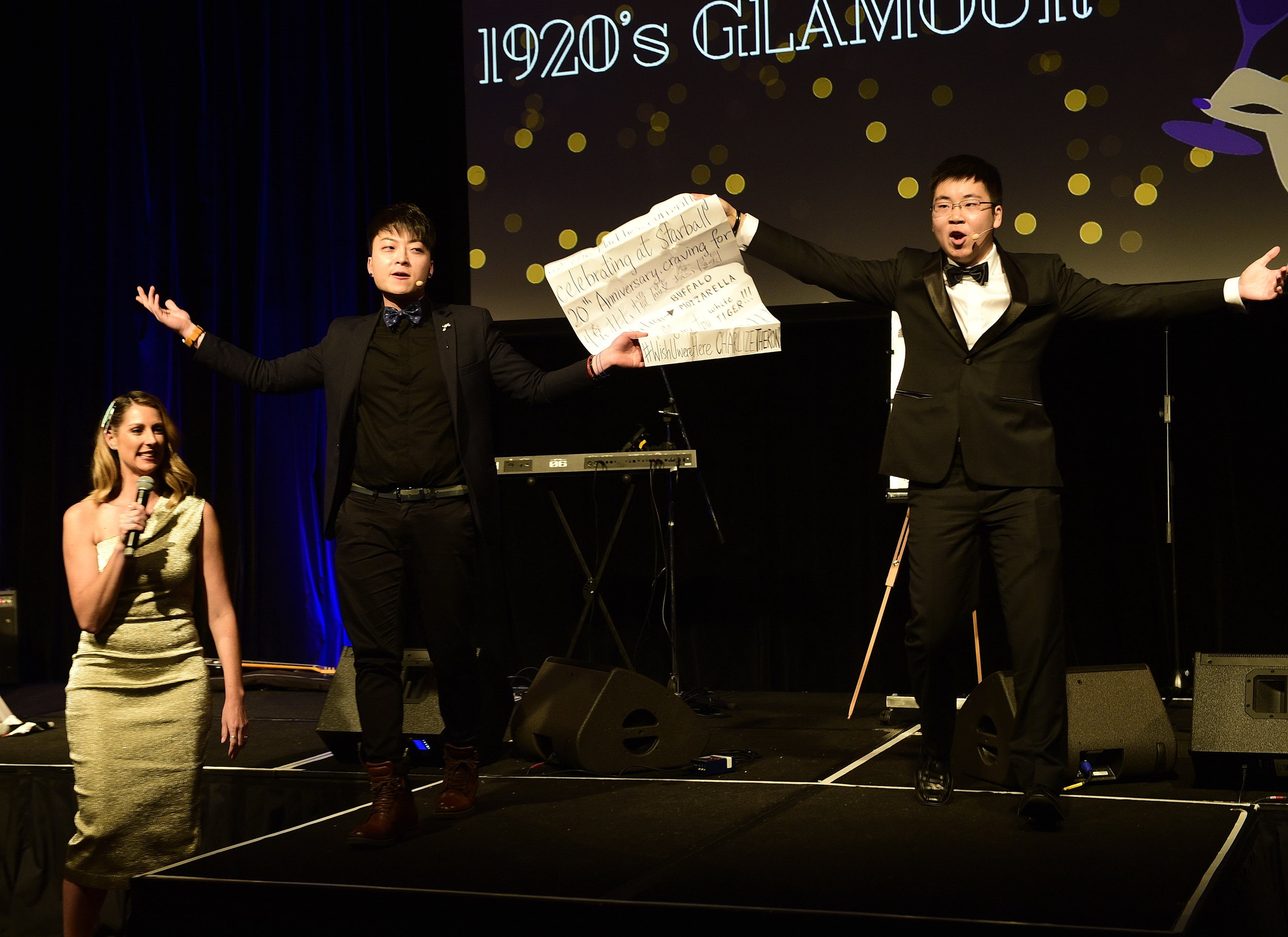 After-Dinner Stage Shows - - Magician performs on a stage for all audiences- Visual and mind-blowing demonstrations with audience involvement- Easily customisable for your event / message