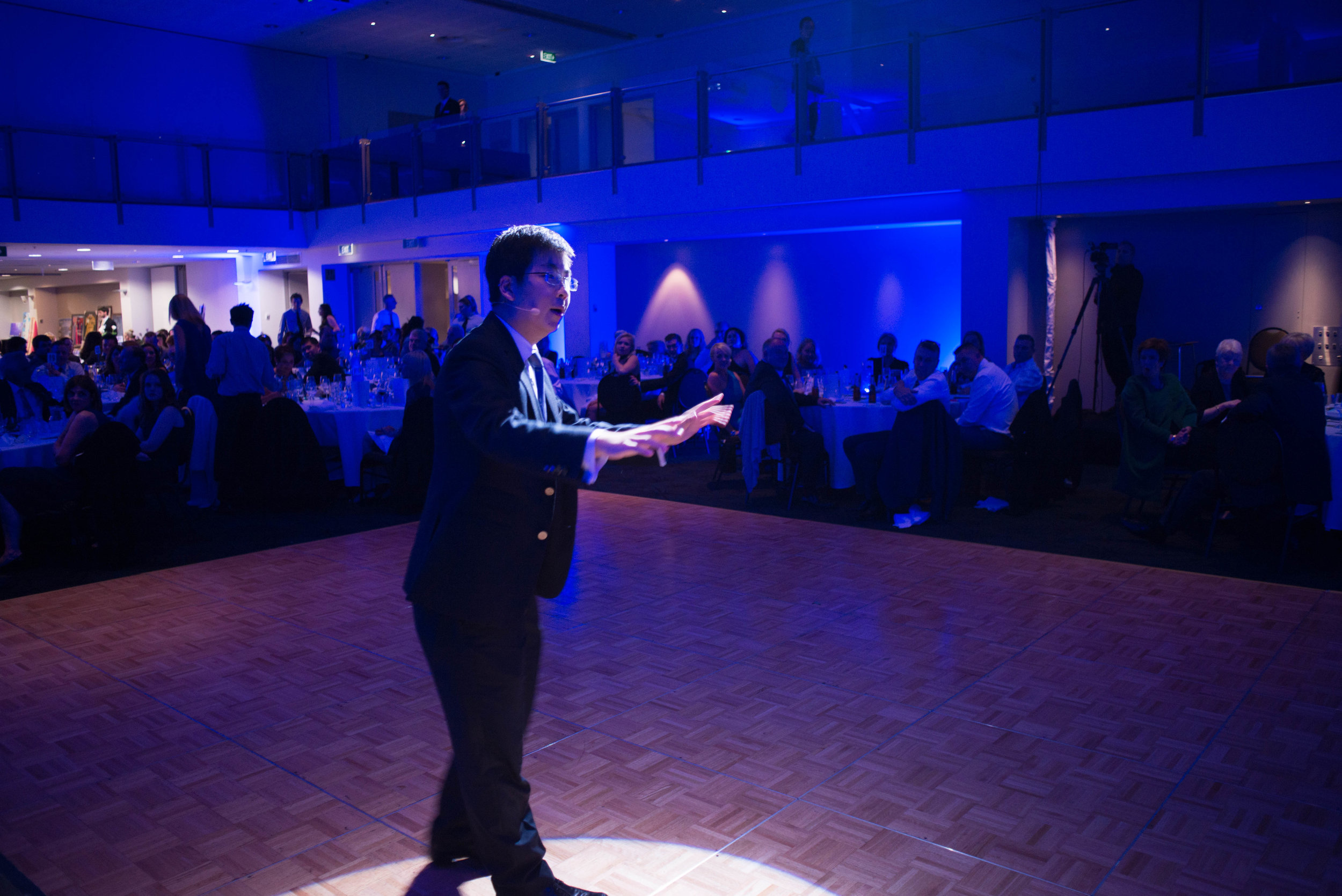Weddings - - Magician performs on a stage for all audiences- Visual and mind-blowing demonstrations with audience involvement- Easily customisable for your event / message