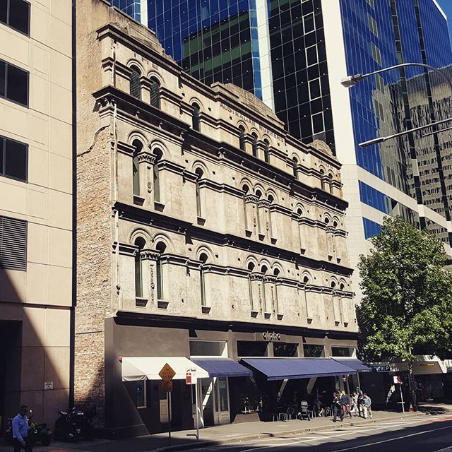 Beautiful architecture. #oldbetweennew #beautifuldesign #architecture #sydneycbd #historical