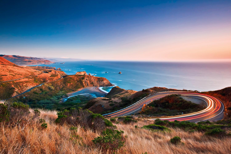 California highway 1 / Pacific Coast Highway