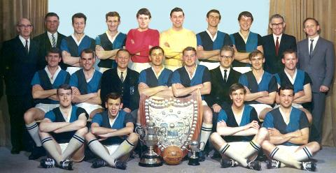 1966 Chatham Cup team