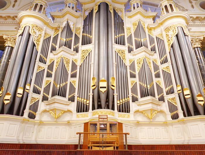 Organ at the Sydney Town Hall
