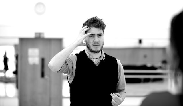 Greg in rehearsal at the Royal Opera. Photo: Signe Roderik, ROH