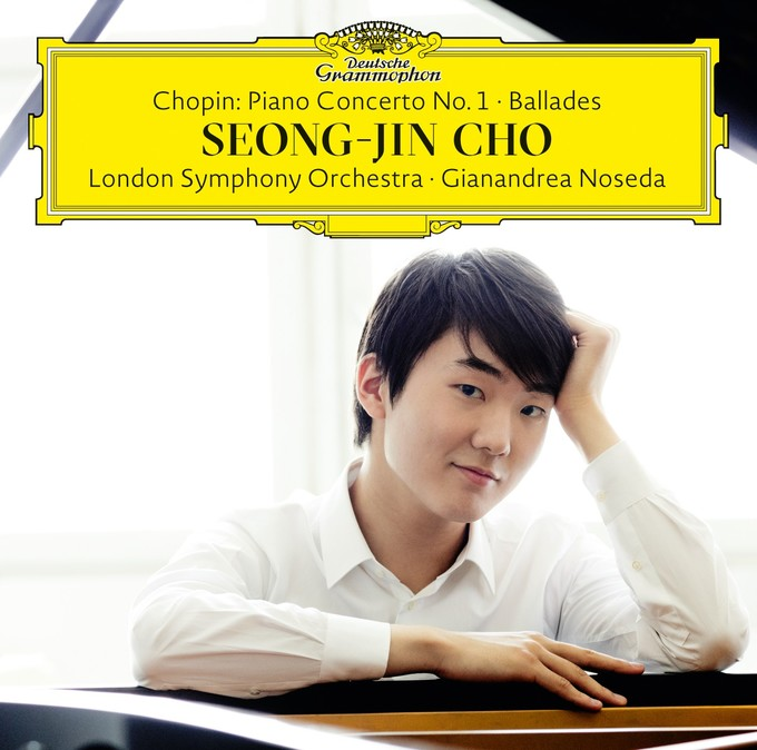 Seong-Jin Cho's debut album is out now on the Deutsche Grammophon label. For more information, or to purchase it online, click  here .