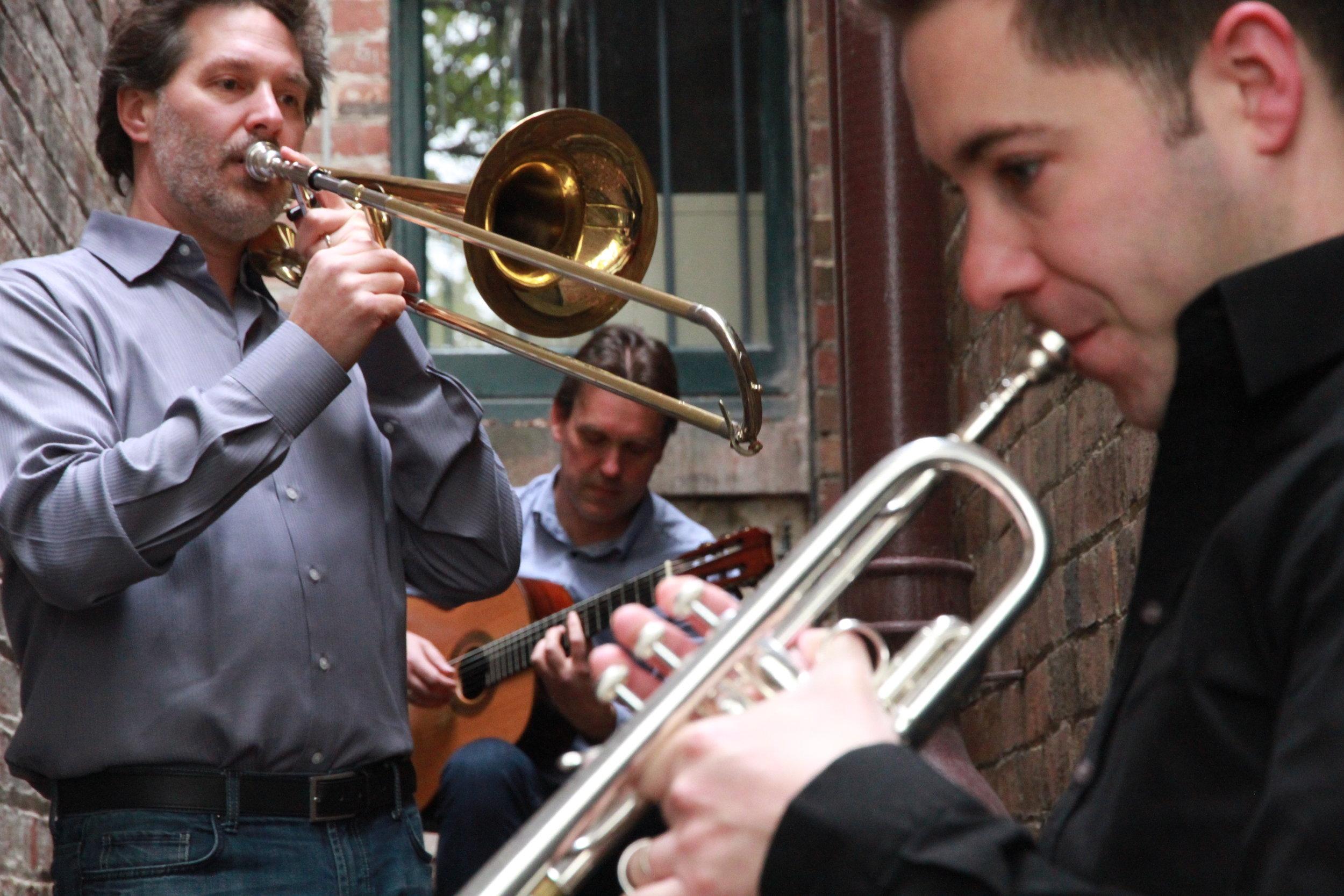 Ensemble Three:  Don Immel , Ken Murray and  Joel Brennan
