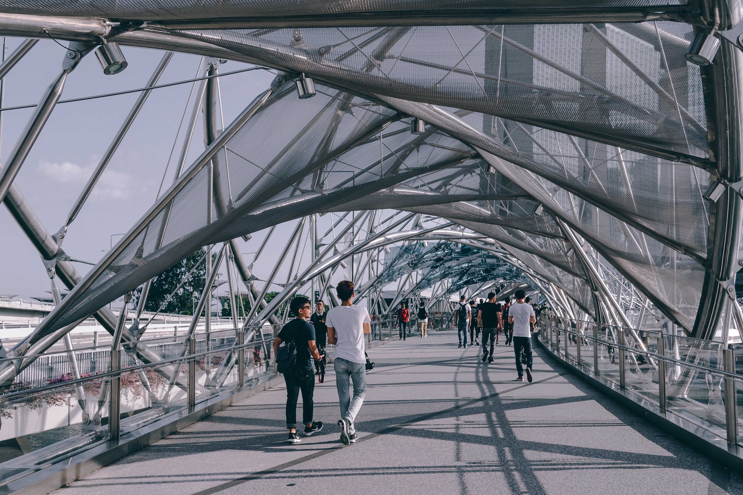 The Helix Bridge.