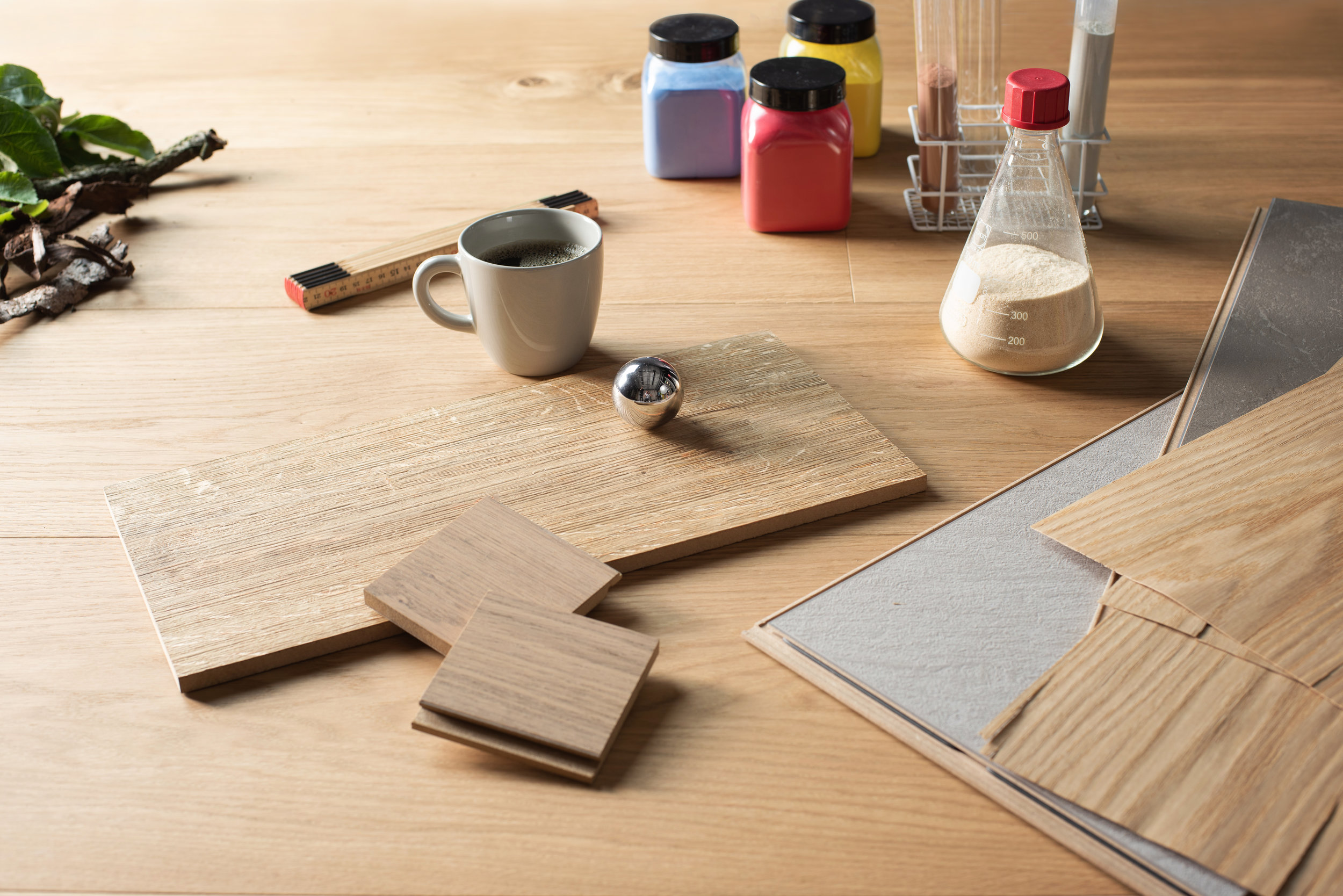Choose… - • Format and pattern• Powder color• Wood species• Wood grading• Surface textures & effects• Surface treatment