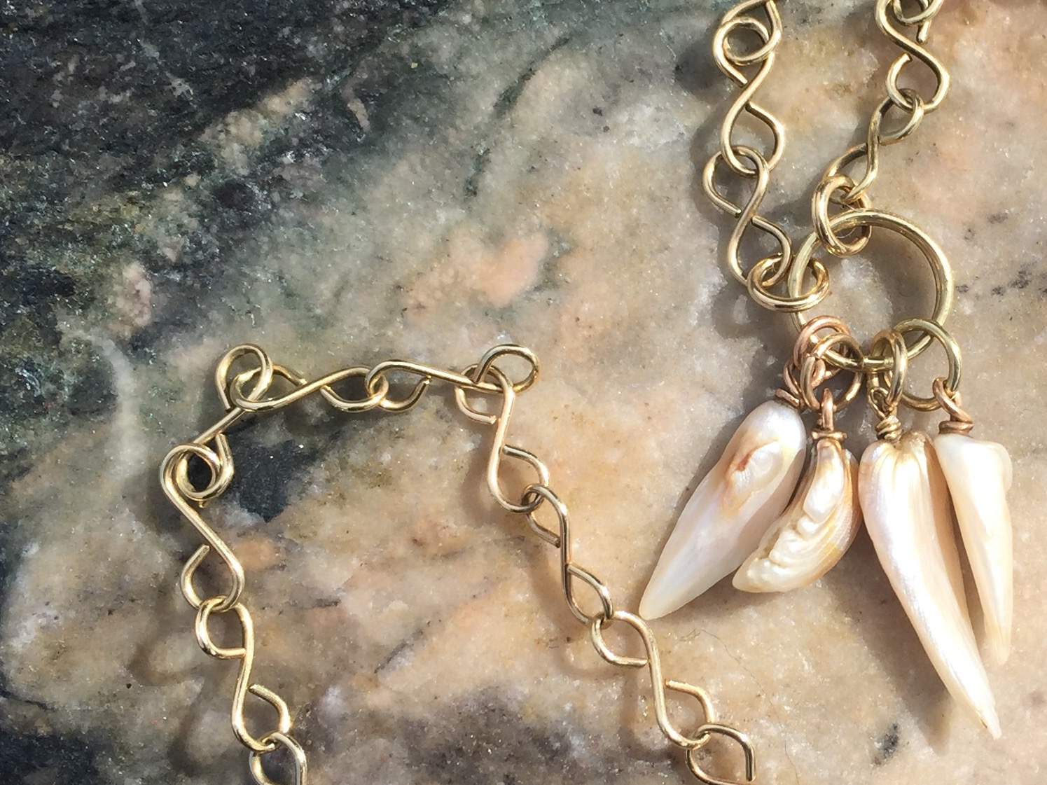 Mississippi River Pearl Signature necklace