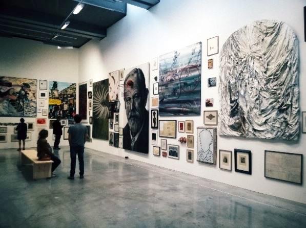 Le mur - œuvres de la collection Antoine de Galbert ; La Maison rouge, 2014