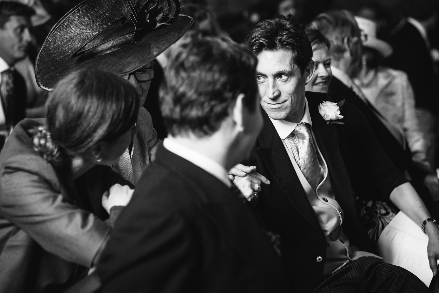 Copy of Guest at Worcestershire Wedding John Colson Photography