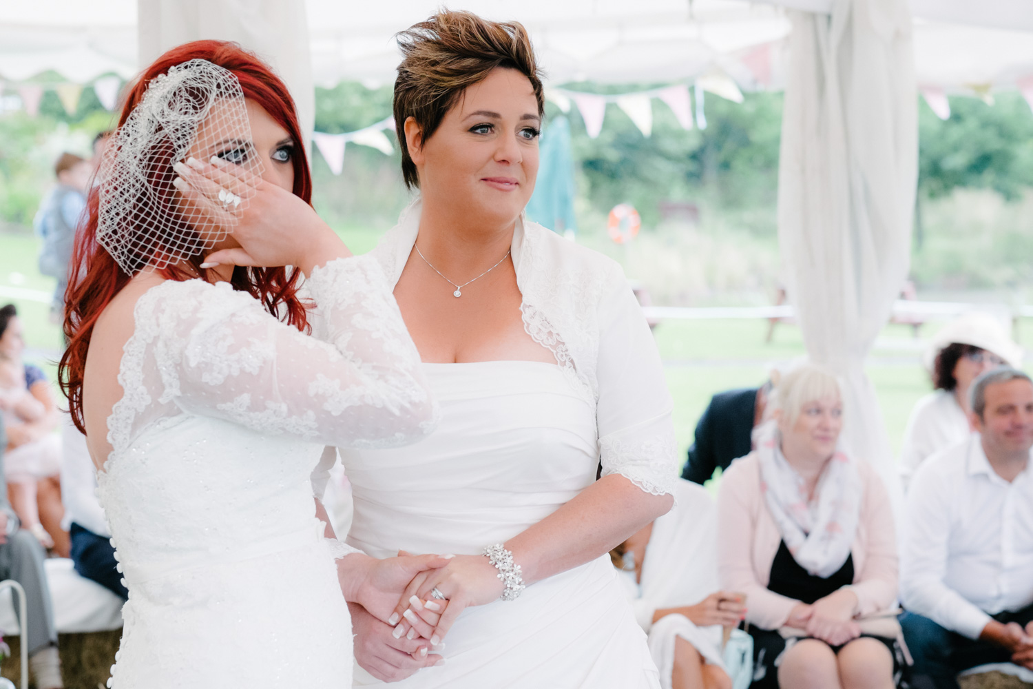 Same Sex Wedding Photography in Worcestershire.