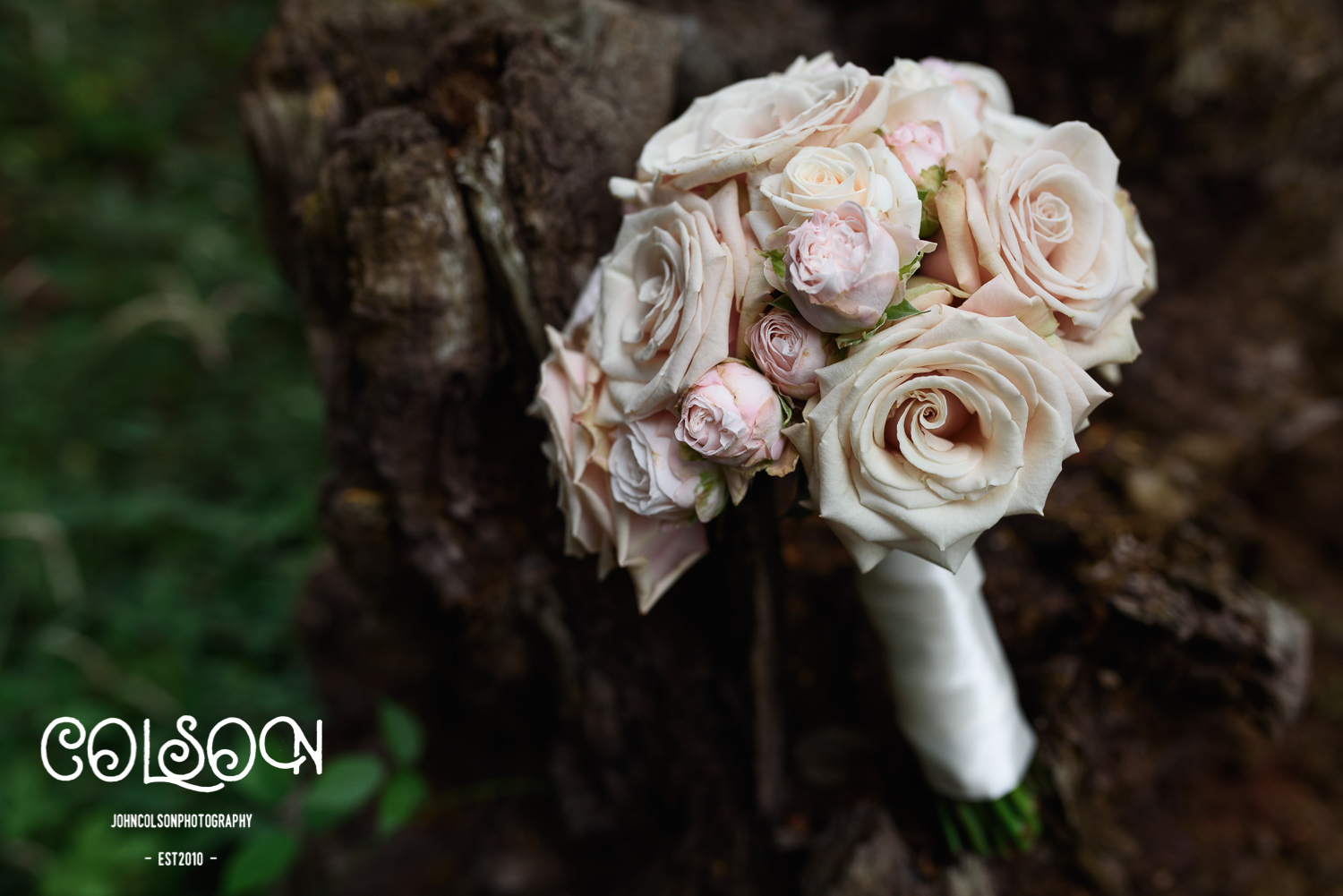 A beautiful wedding bouquet.