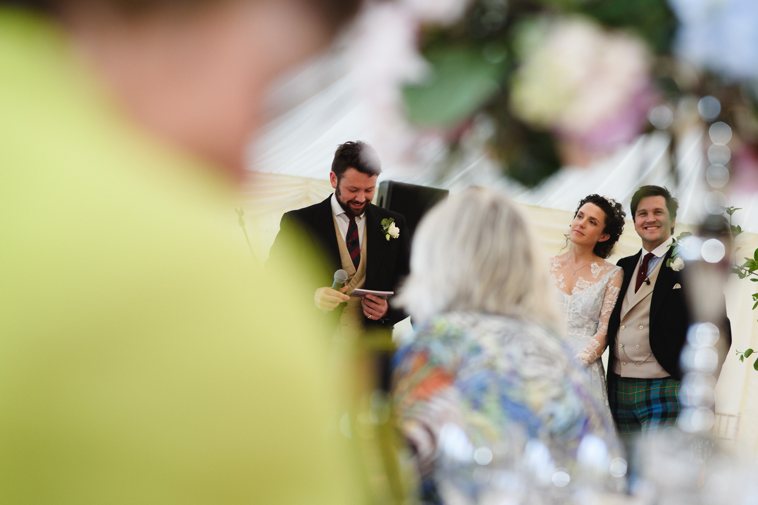 The Best Mans speech at Lottie and Alastairs Cotswold wedding.