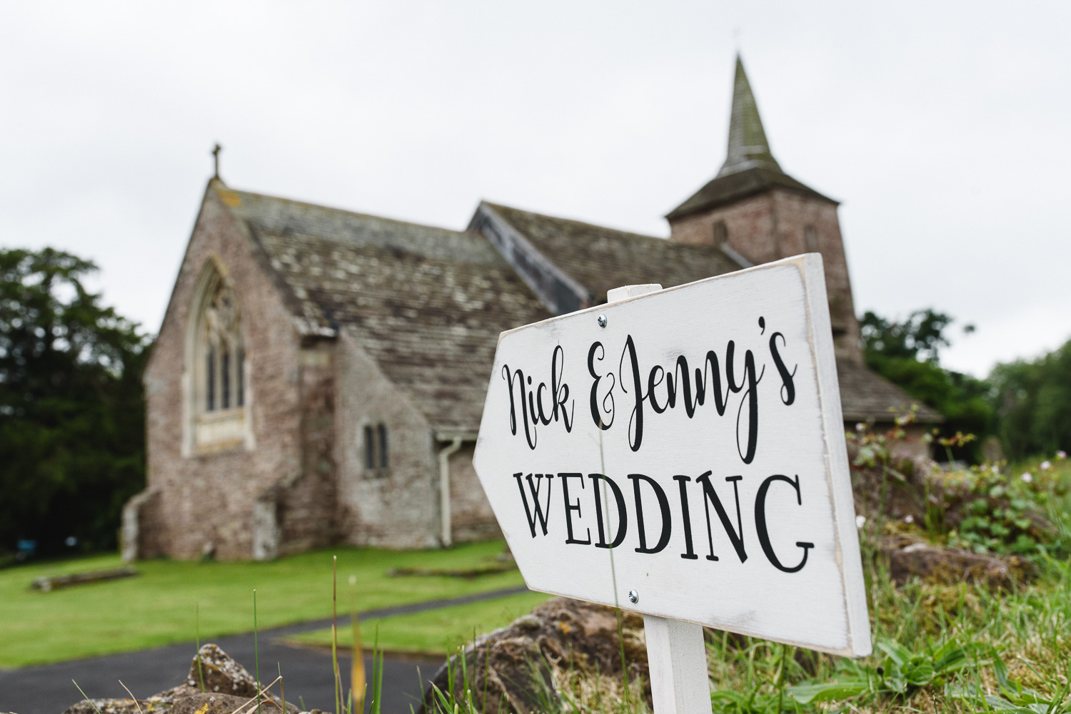 Wedding Photography in Pudleston, Herefordshire.
