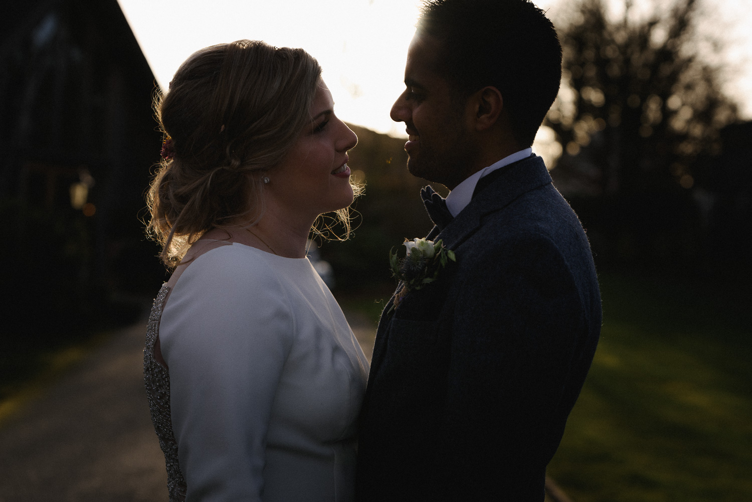 Amitbhai and Josephine - Mythe Barn, Sheepy Magna, Leicestershire