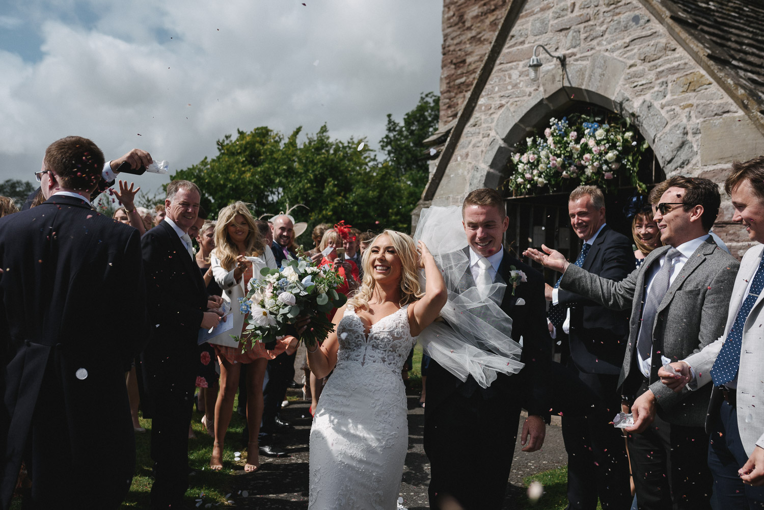 Vicky and Anthony - St. Marys Almeley and Lemore Manor, Herefordshire.