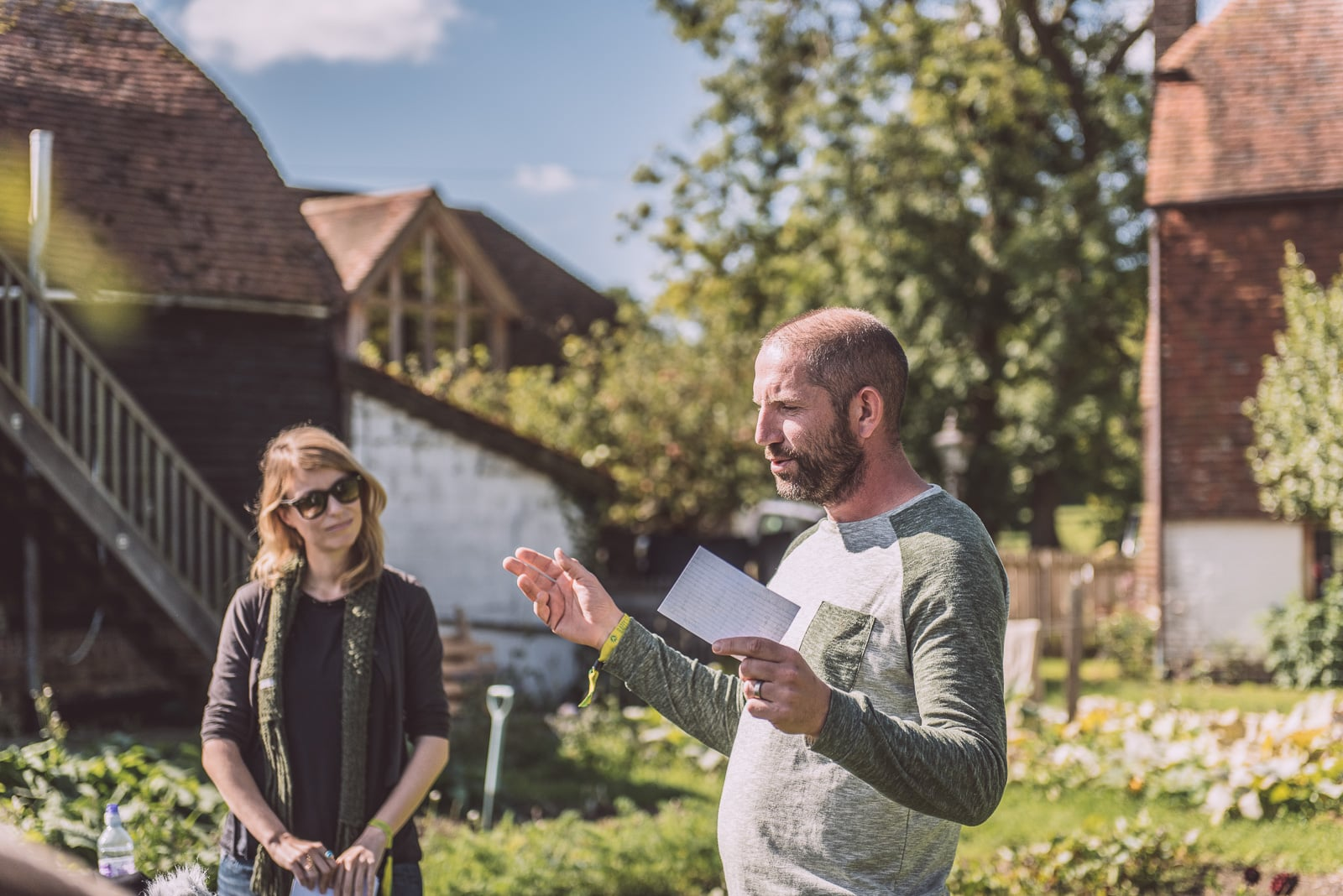 Marianne & Jack at Summercamp 2015