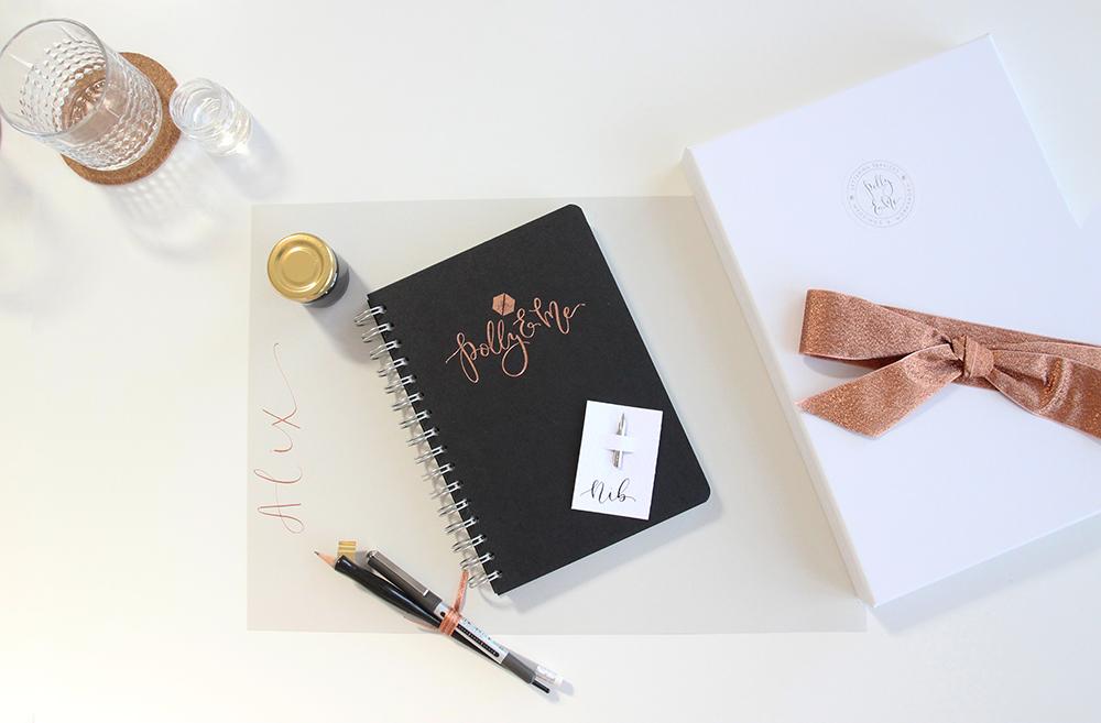 Modern Calligraphy Workshops Derbyshire