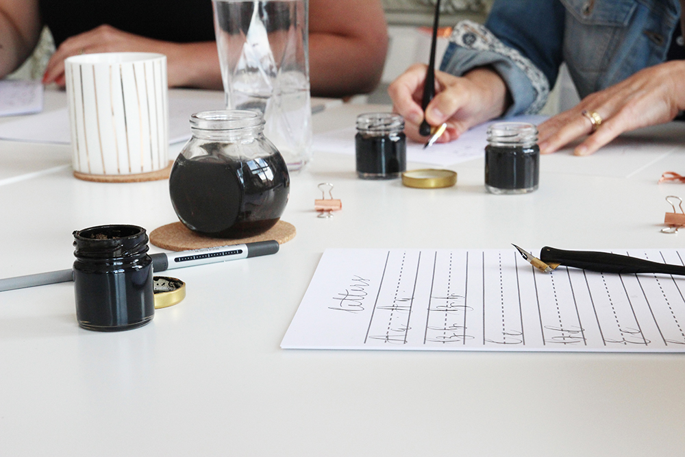 Calligraphy Workshops Nottingham