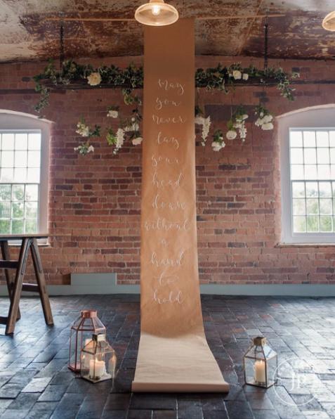 scrolls for weddings