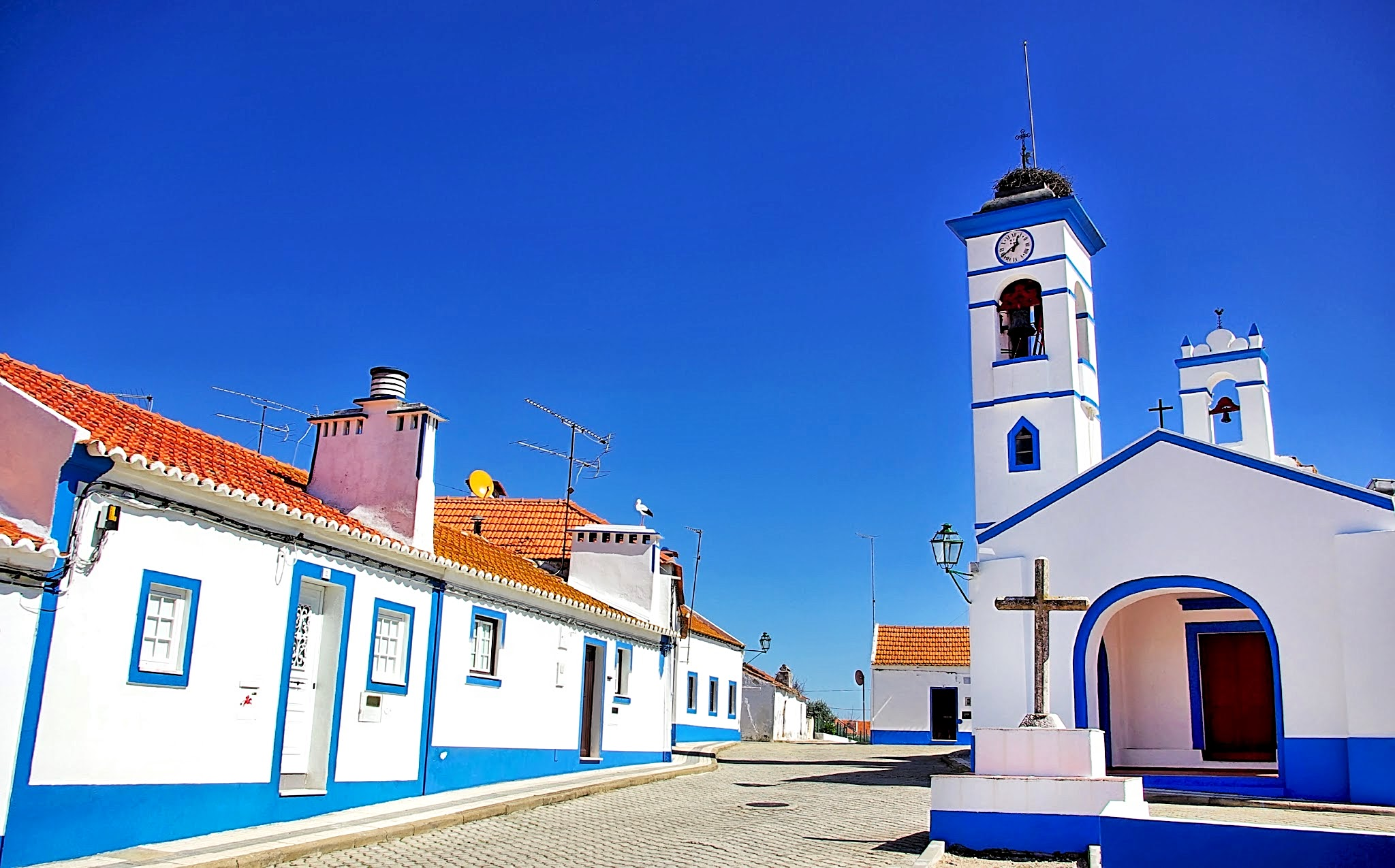 Santa Susana village.