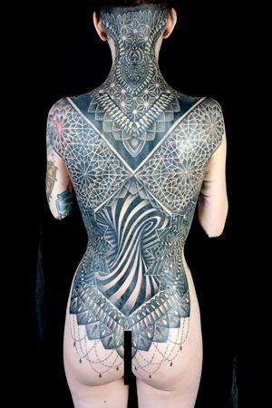 Blackwork - Glenn Cuzen of Top Gun Tattooing