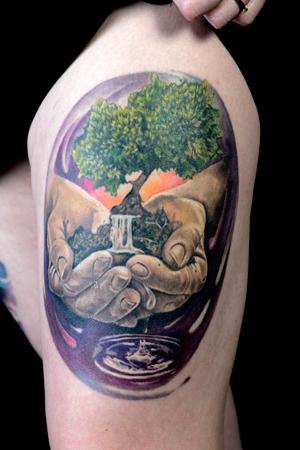 Colour - Anastasia Vilks of Vilks Tattoo Studio
