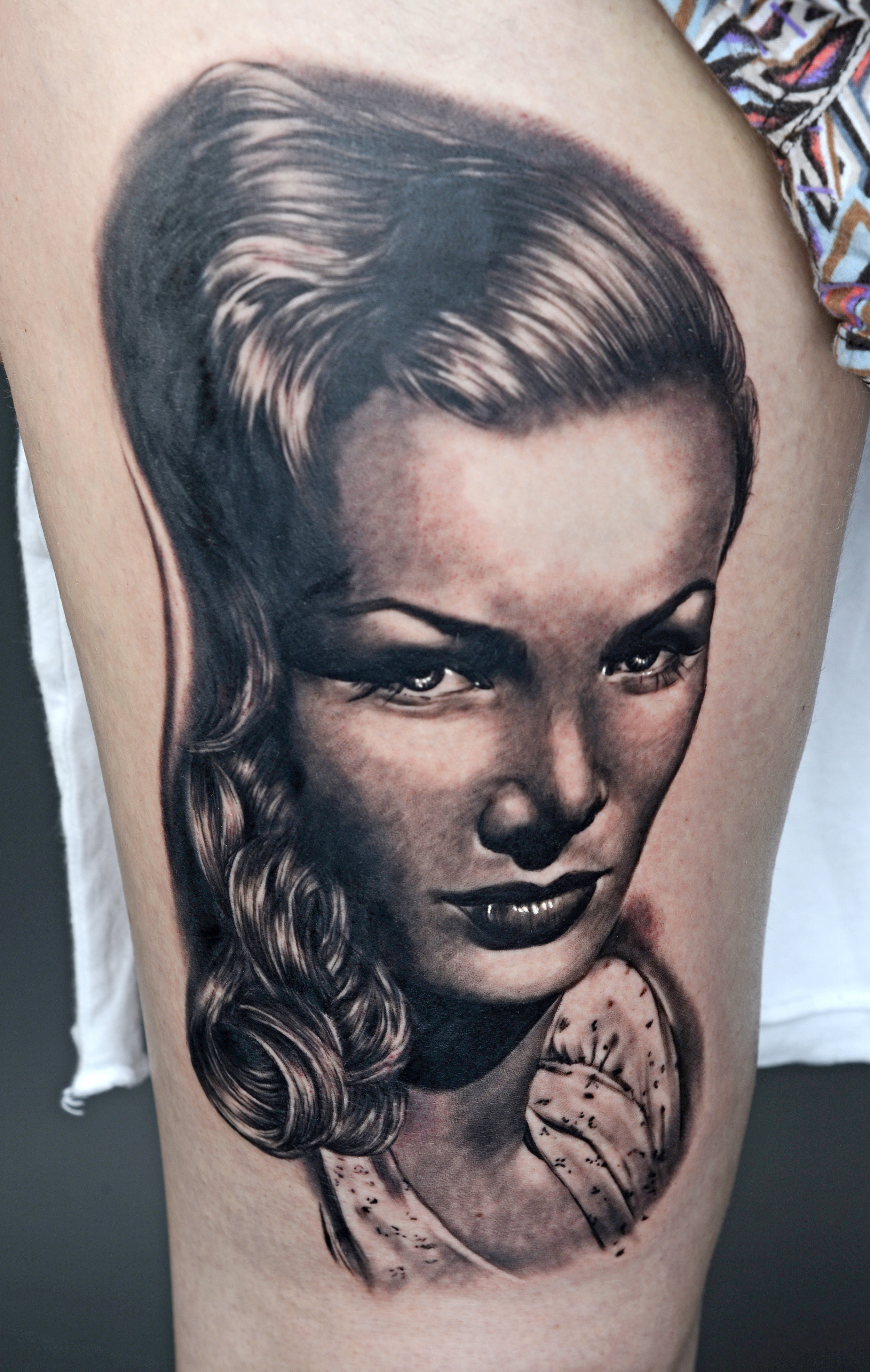 Yisis of The White Room Tattoo - Best Realism