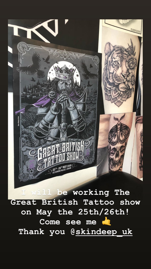 Studio Support The Great British Tattoo Show