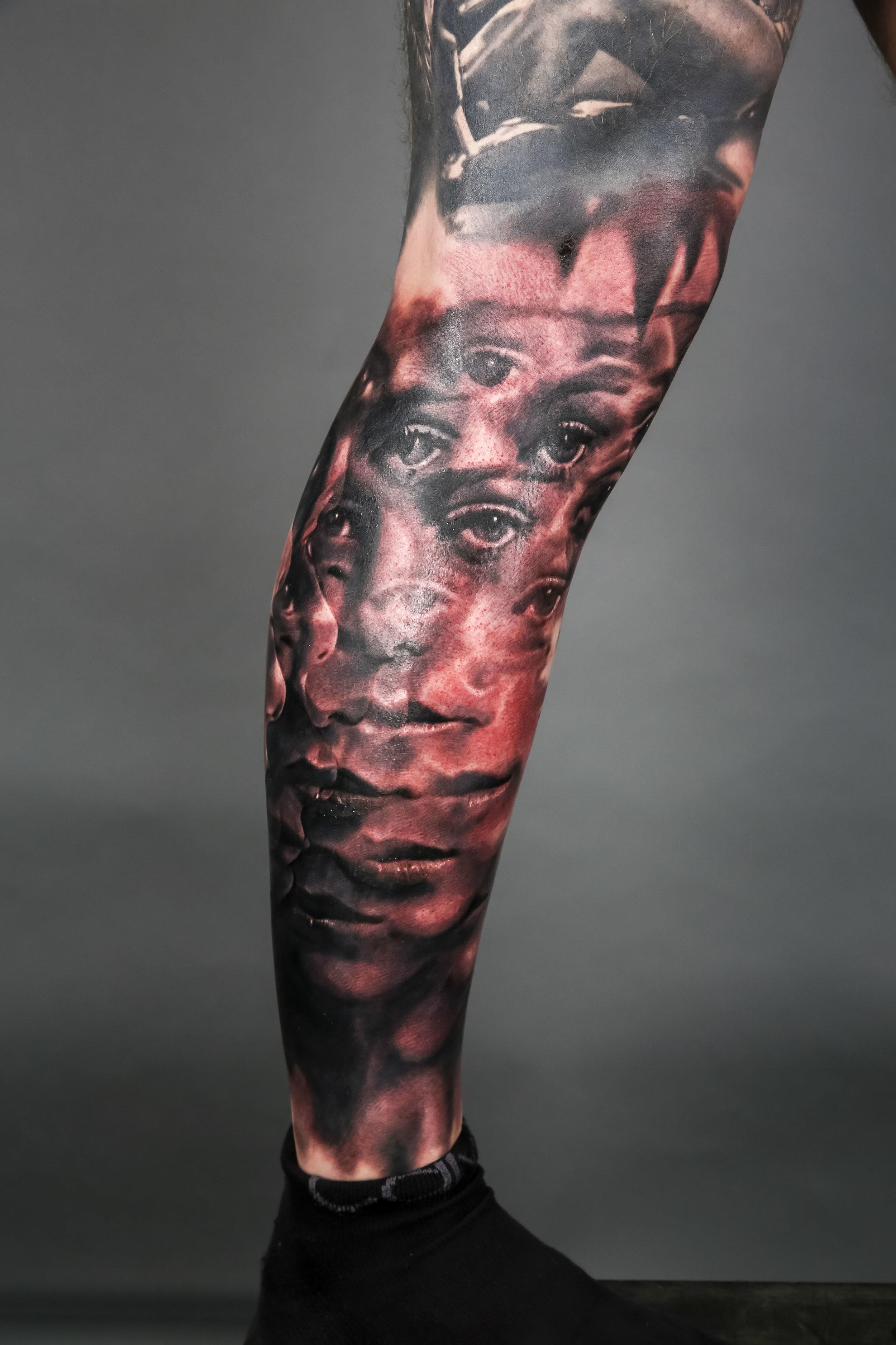 Winner Black & Grey and Best of Sunday by Zmetek of Jarda Tattoo