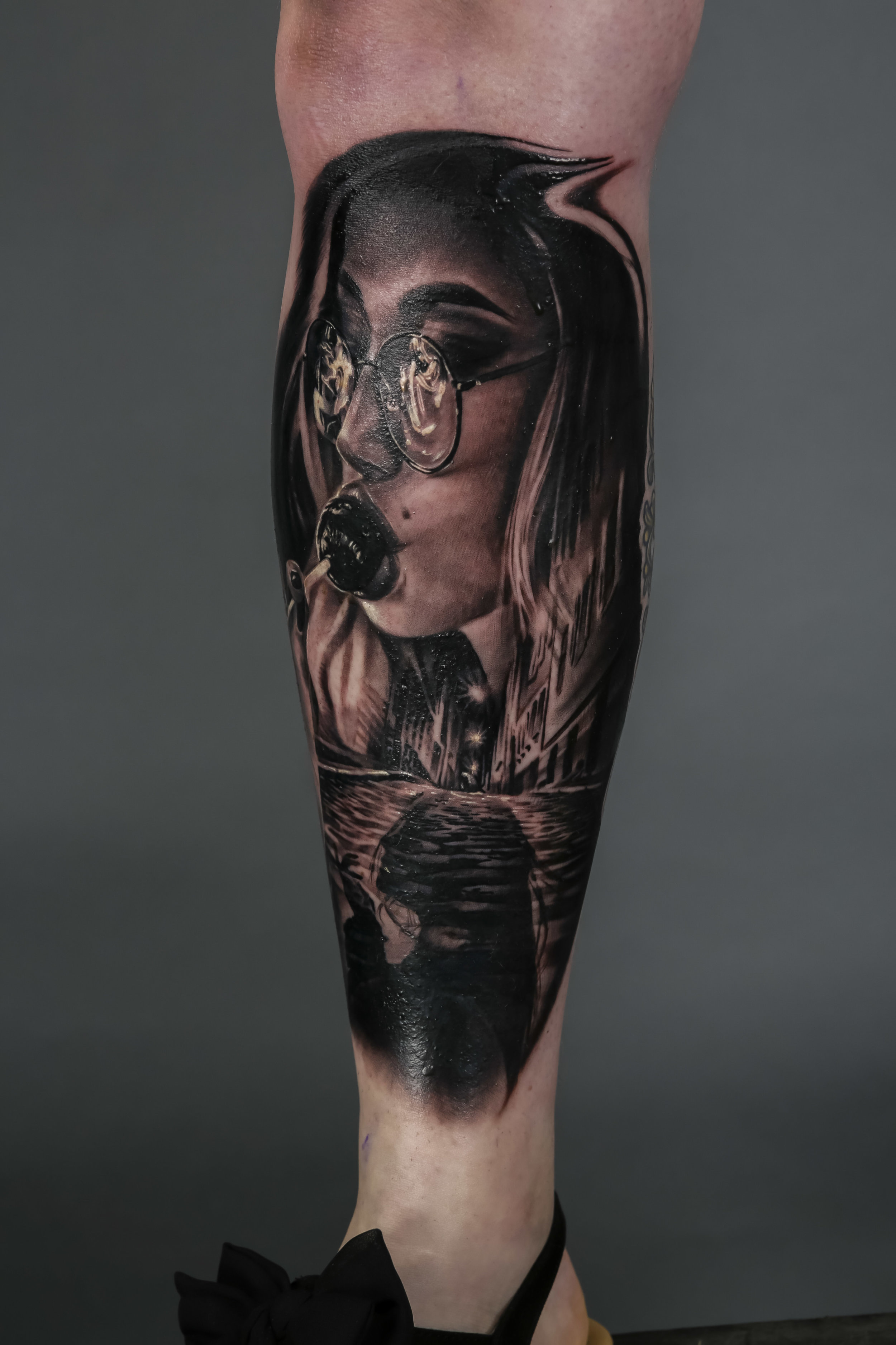 Black & Grey Runner Up  by Ben Dunning, Ministry of Ink