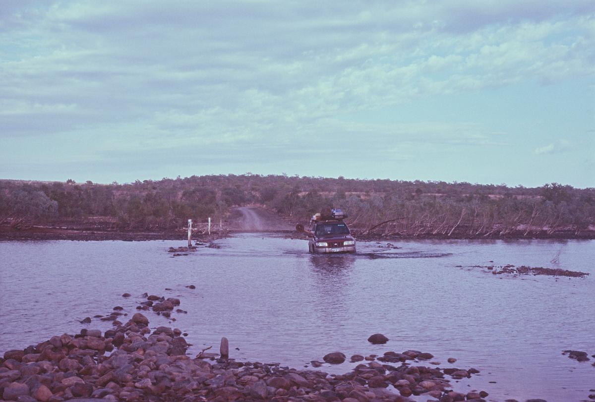 Pentecost River crossing, East Kimberley
