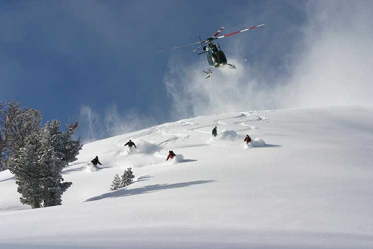 Images courtesy of High Mountain Heli-Skiing