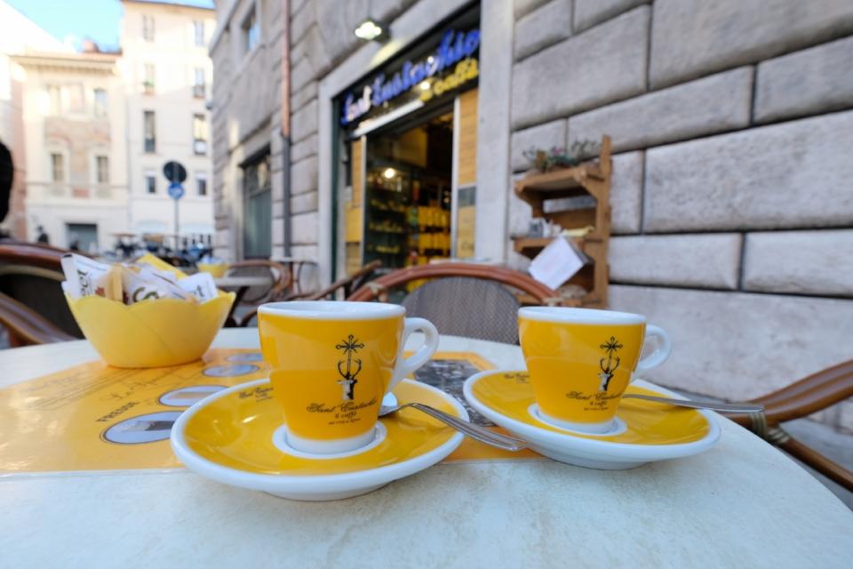 Images courtesy of Caffe Sant' Eustachio