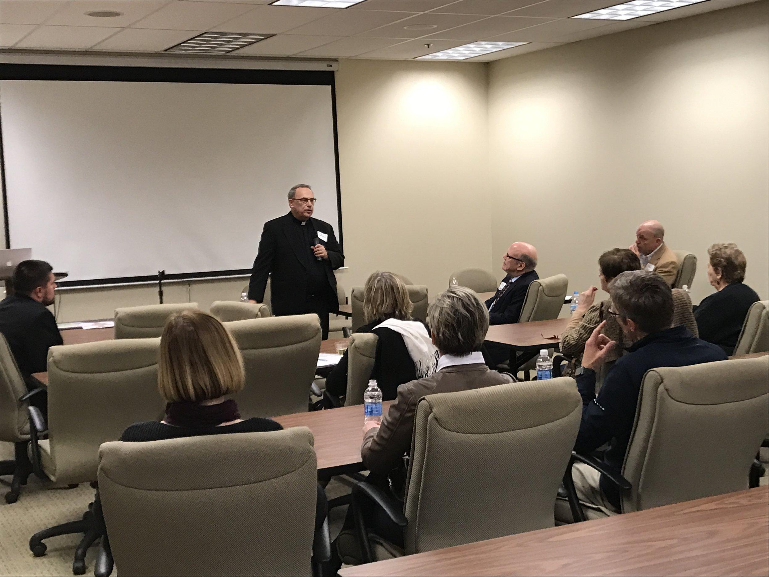 Fr. Ron Lewinski discusses Renew My Church